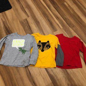 Toddler Boy Long Sleeve T-Shirt Bundle